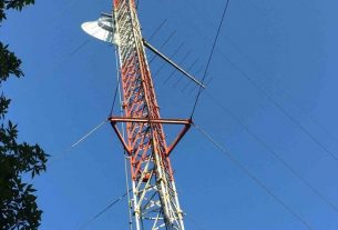 wrcr radio tower