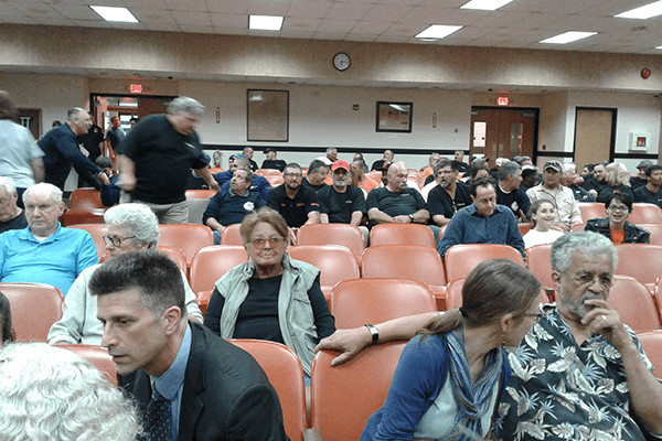 Clarkstown Planning Board Meeting on Suez Application