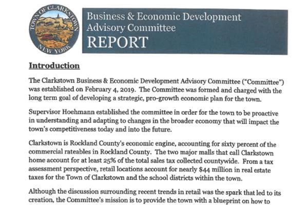 Business & Economic Development Advisory Report