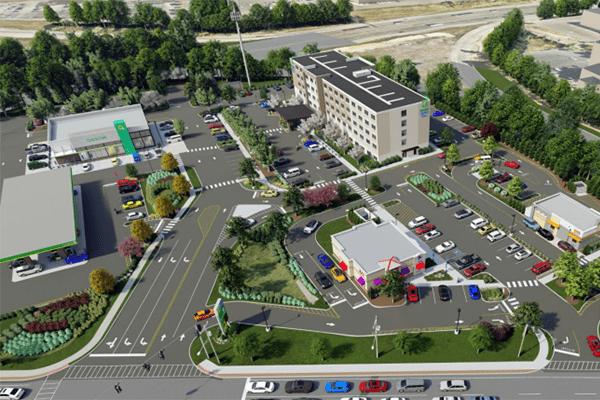thruway plaza